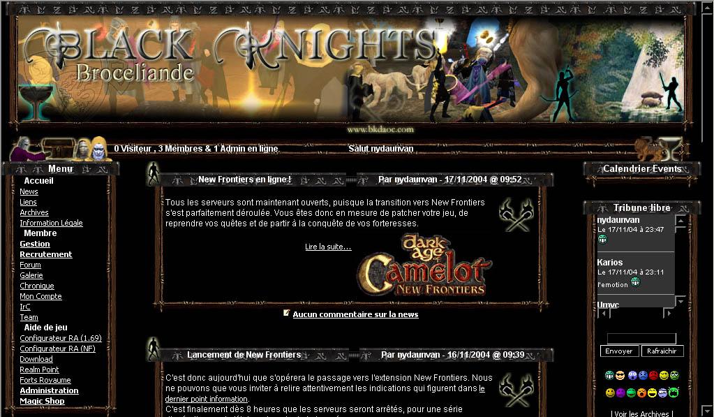 serveur jeux en ligne